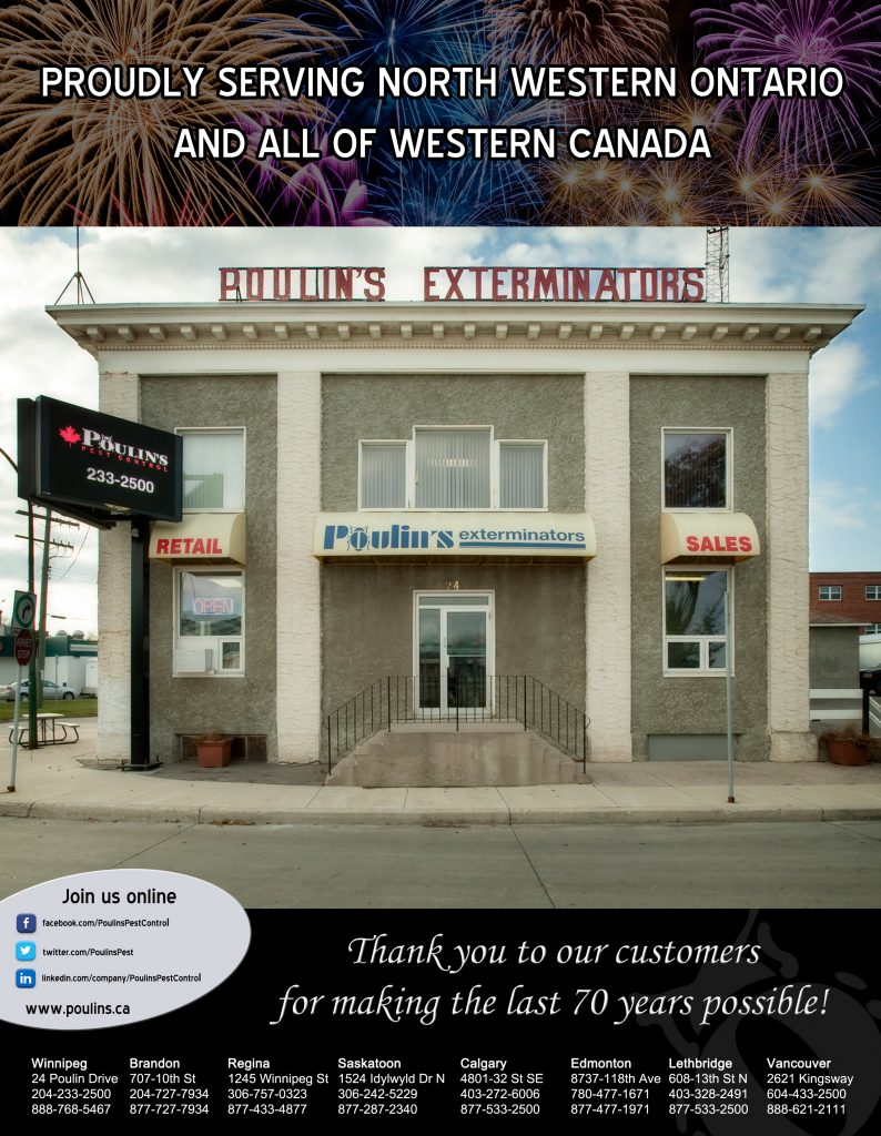 Poulins Anniversary Ad