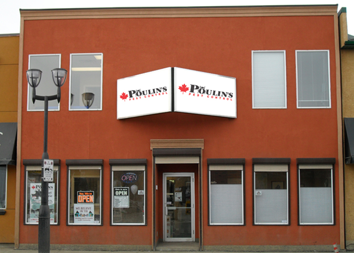 Poulin's Edmonton Branch