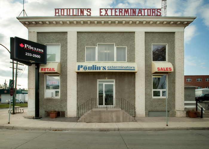 Poulin's Winnipeg Branch