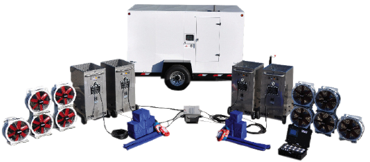 Bed Bug Heat Treatment Equipment